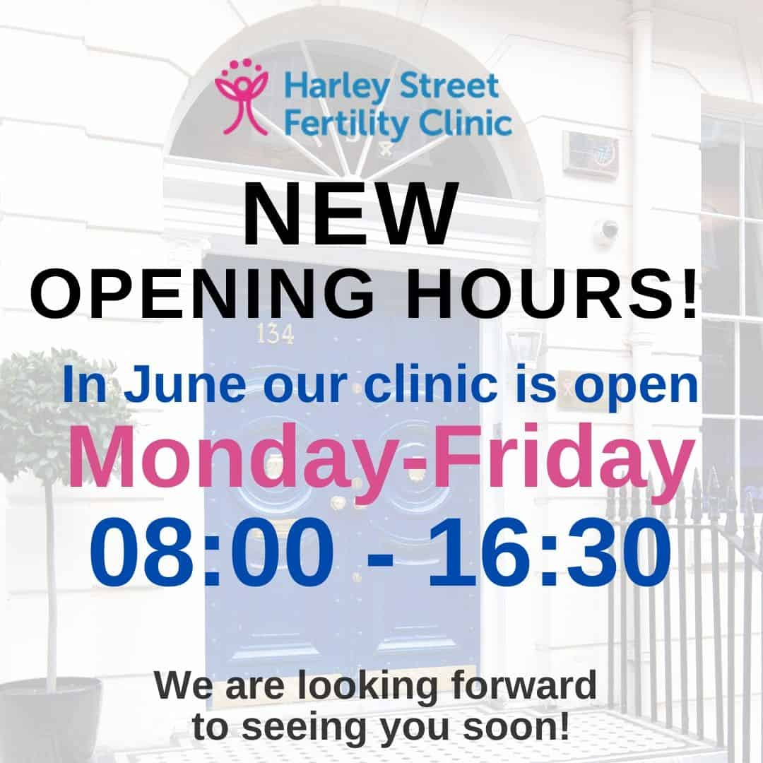 New opening hours – June 2020