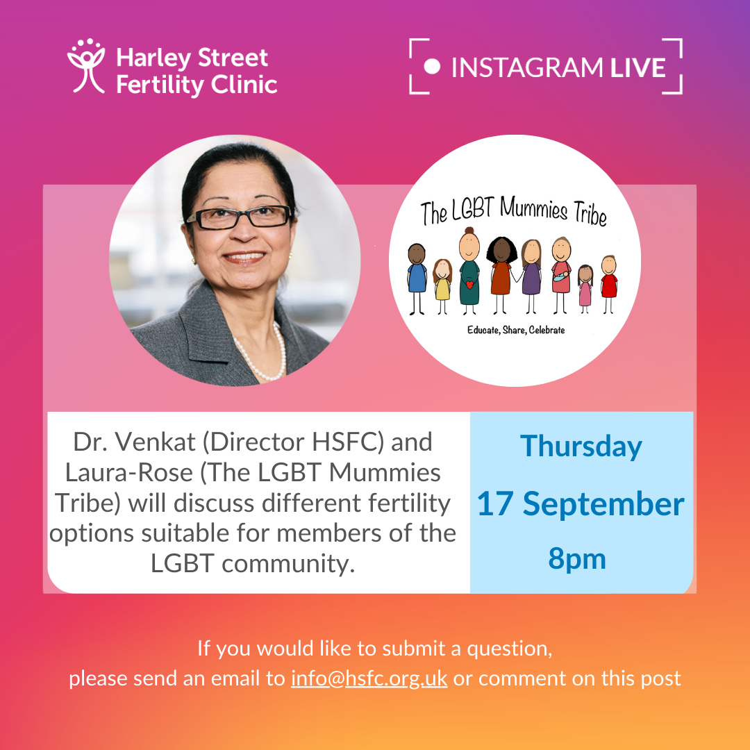 Dr Venkat, invited guest on The LGBT Mummies Tribe's Instagram Live