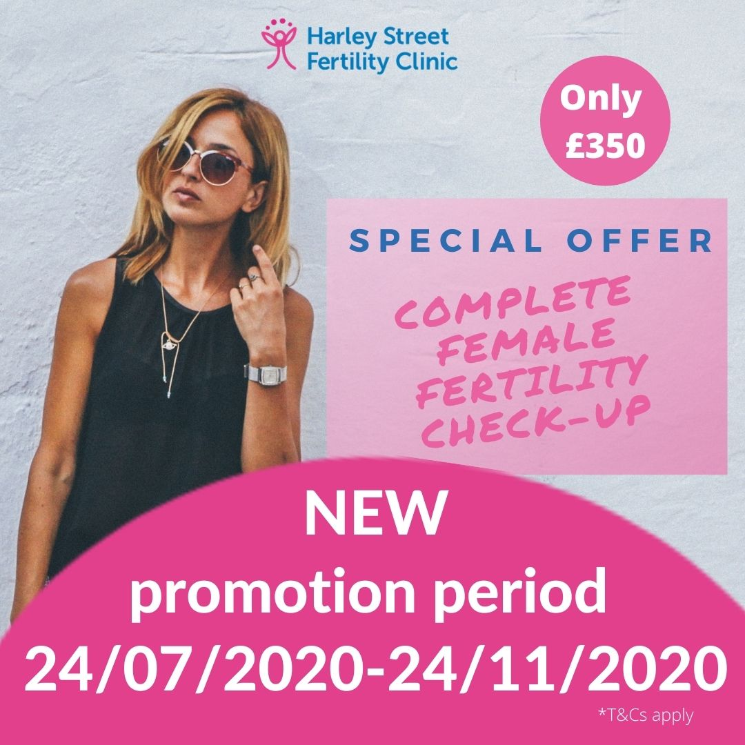 Promotional offer extended on complete female fertility check-up
