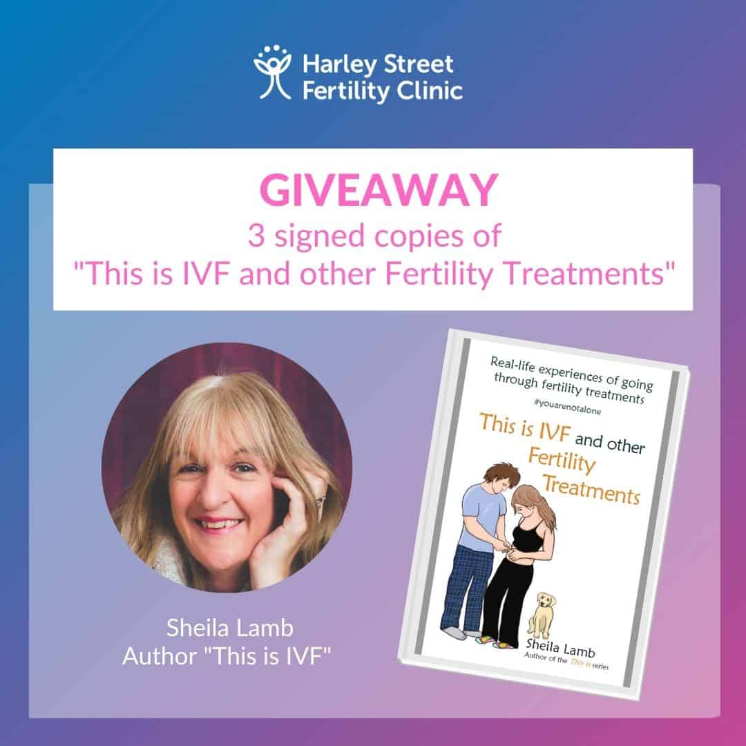 """WIN 3 signed copies of the """"This is IVF and other Fertility Treatments"""" book."""