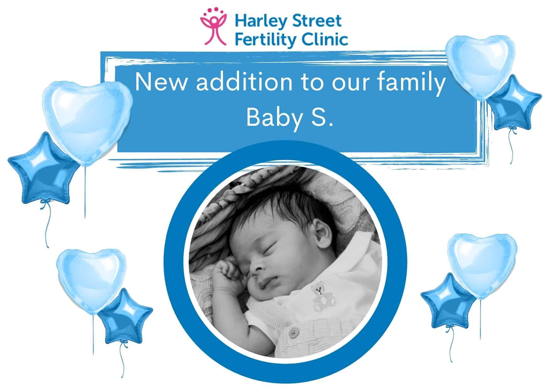 A new addition to our family: baby S.